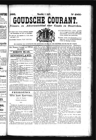 Goudsche Courant 1892-04-04