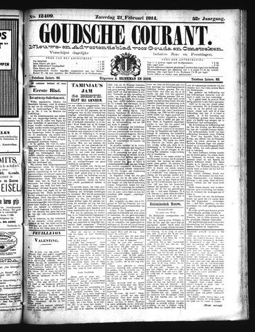 Goudsche Courant 1914-02-21