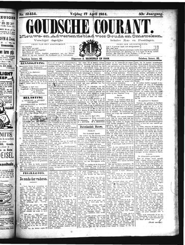 Goudsche Courant 1914-04-17