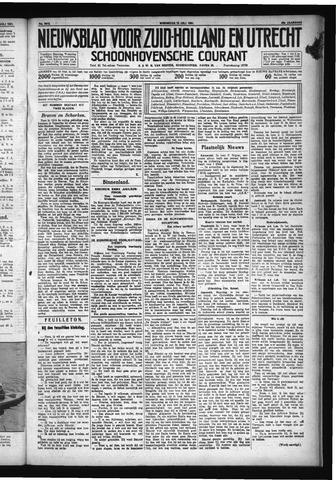 Schoonhovensche Courant 1931-07-15