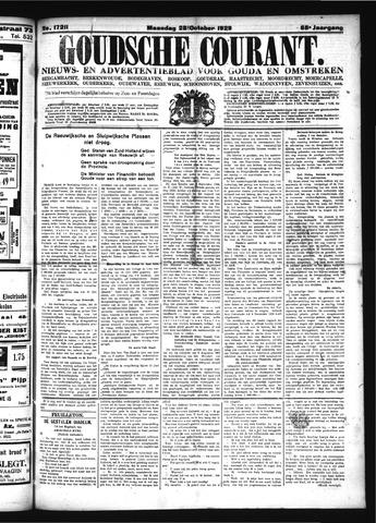 Goudsche Courant 1929-10-28
