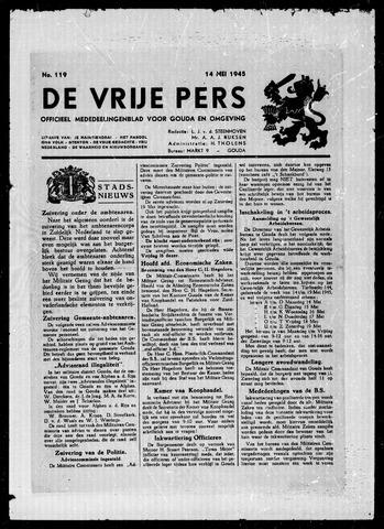De Vrije Pers 1945-05-14