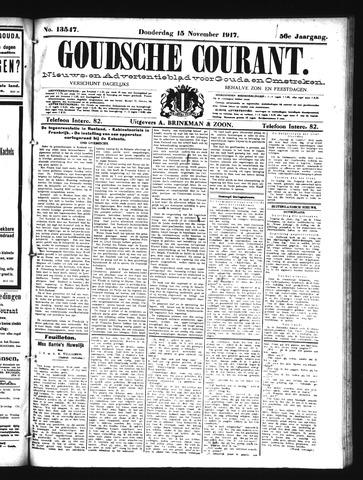 Goudsche Courant 1917-11-15