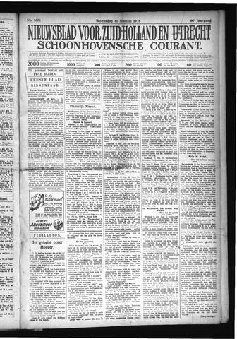 Schoonhovensche Courant 1928-01-11