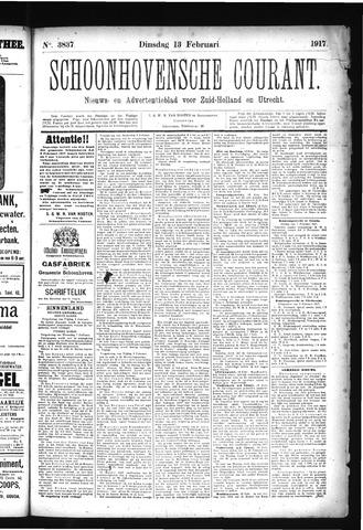 Schoonhovensche Courant 1917-02-13