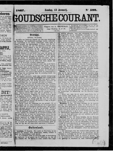 Goudsche Courant 1867-01-13
