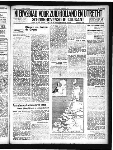Schoonhovensche Courant 1940-09-11