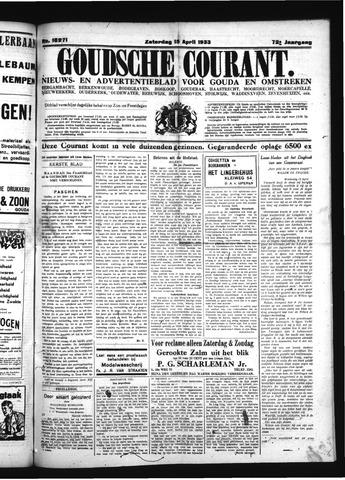 Goudsche Courant 1933-04-15