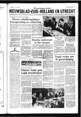 Schoonhovensche Courant 1969-02-05