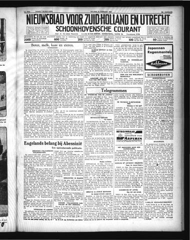 Schoonhovensche Courant 1936-02-21