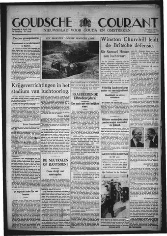 Goudsche Courant 1940-04-04