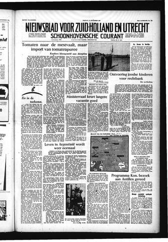 Schoonhovensche Courant 1955-09-23