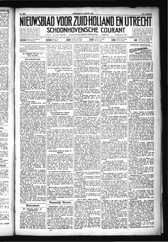 Schoonhovensche Courant 1930-01-15