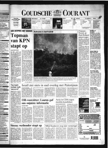 Goudsche Courant 2001-09-10
