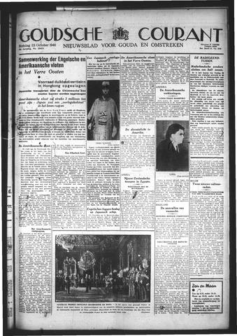 Goudsche Courant 1940-10-22
