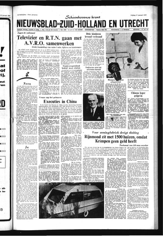 Schoonhovensche Courant 1967-01-27