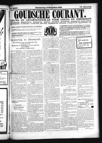 Goudsche Courant 1935-11-14