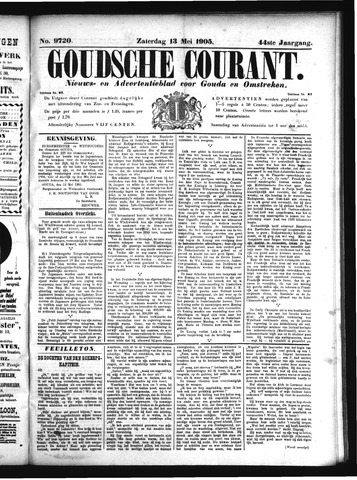 Goudsche Courant 1905-05-13