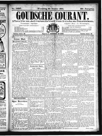 Goudsche Courant 1911-10-25