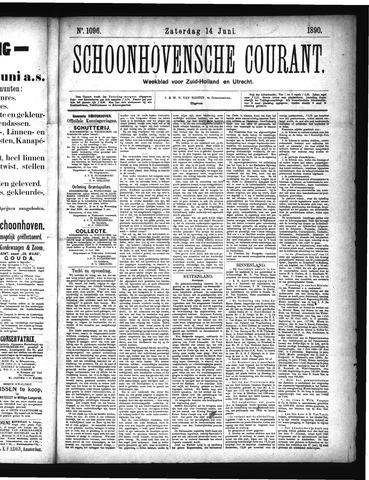 Schoonhovensche Courant 1890-06-14