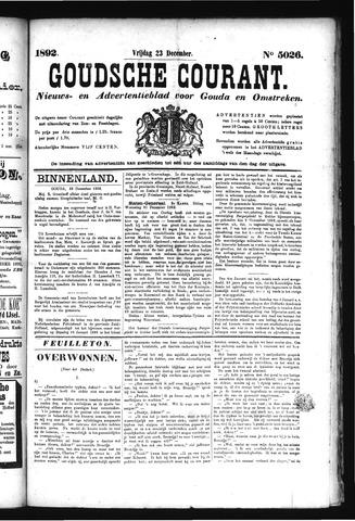 Goudsche Courant 1892-12-23