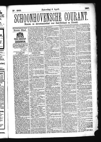 Schoonhovensche Courant 1907-04-06
