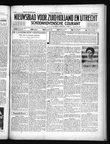 Schoonhovensche Courant 1934-08-31