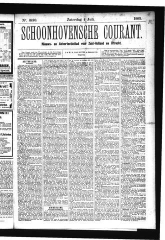 Schoonhovensche Courant 1903-07-04