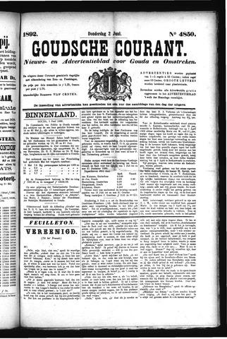 Goudsche Courant 1892-06-02