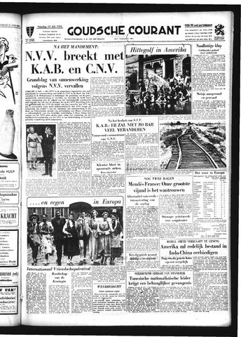 Goudsche Courant 1954-07-19