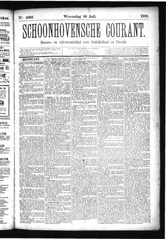 Schoonhovensche Courant 1919-07-30