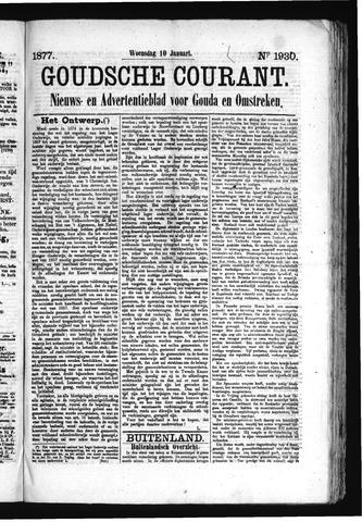 Goudsche Courant 1877-01-10