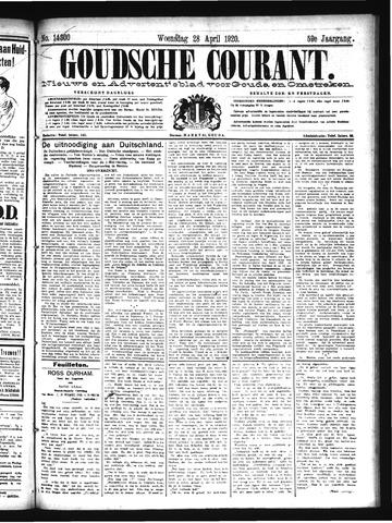 Goudsche Courant 1920-04-28