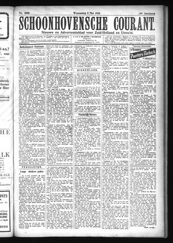 Schoonhovensche Courant 1923-05-09