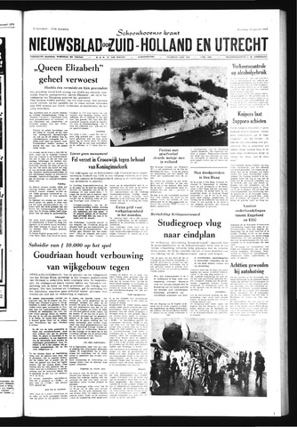 Schoonhovensche Courant 1972-01-10
