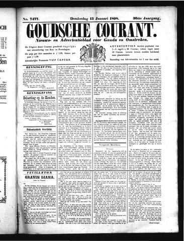 Goudsche Courant 1898-01-13