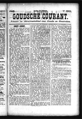 Goudsche Courant 1887-02-20