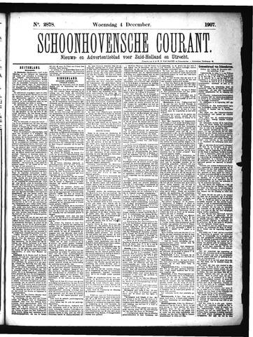 Schoonhovensche Courant 1907-12-04