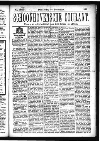 Schoonhovensche Courant 1899-12-28