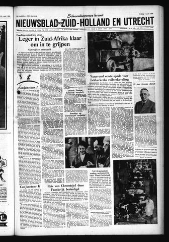 Schoonhovensche Courant 1960-04-01