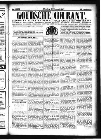 Goudsche Courant 1927-02-08
