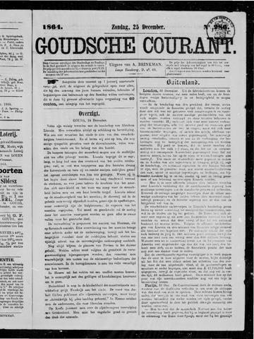 Goudsche Courant 1864-12-25