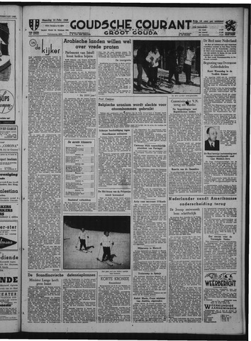 Goudsche Courant 1949-02-14