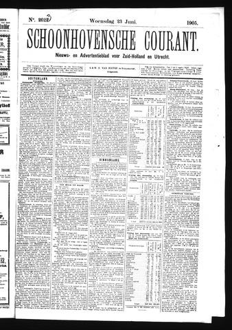 Schoonhovensche Courant 1905-06-23