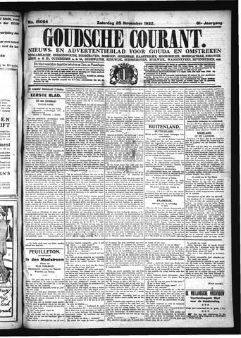 Goudsche Courant 1922-11-25