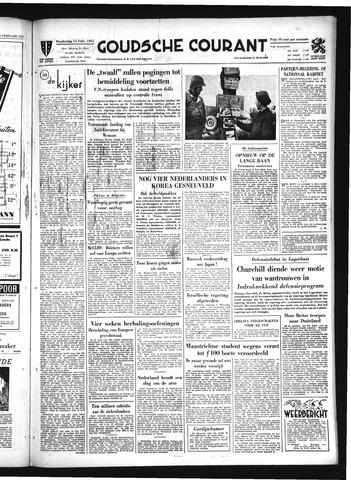 Goudsche Courant 1951-02-15