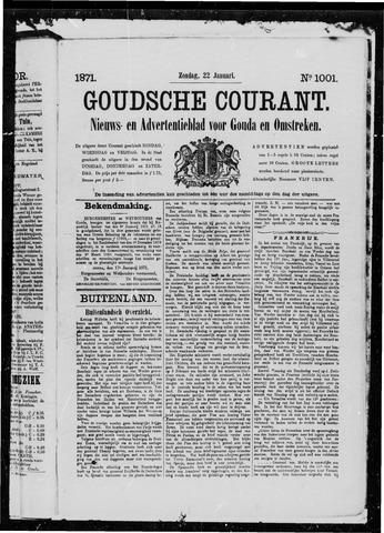 Goudsche Courant 1871-01-22
