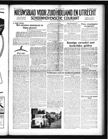 Schoonhovensche Courant 1952-07-11