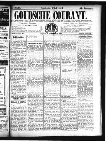 Goudsche Courant 1914-07-09