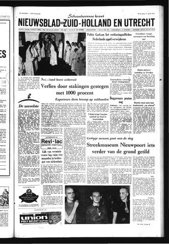 Schoonhovensche Courant 1971-04-21